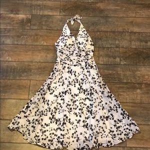 NWT Floral Halter Dress